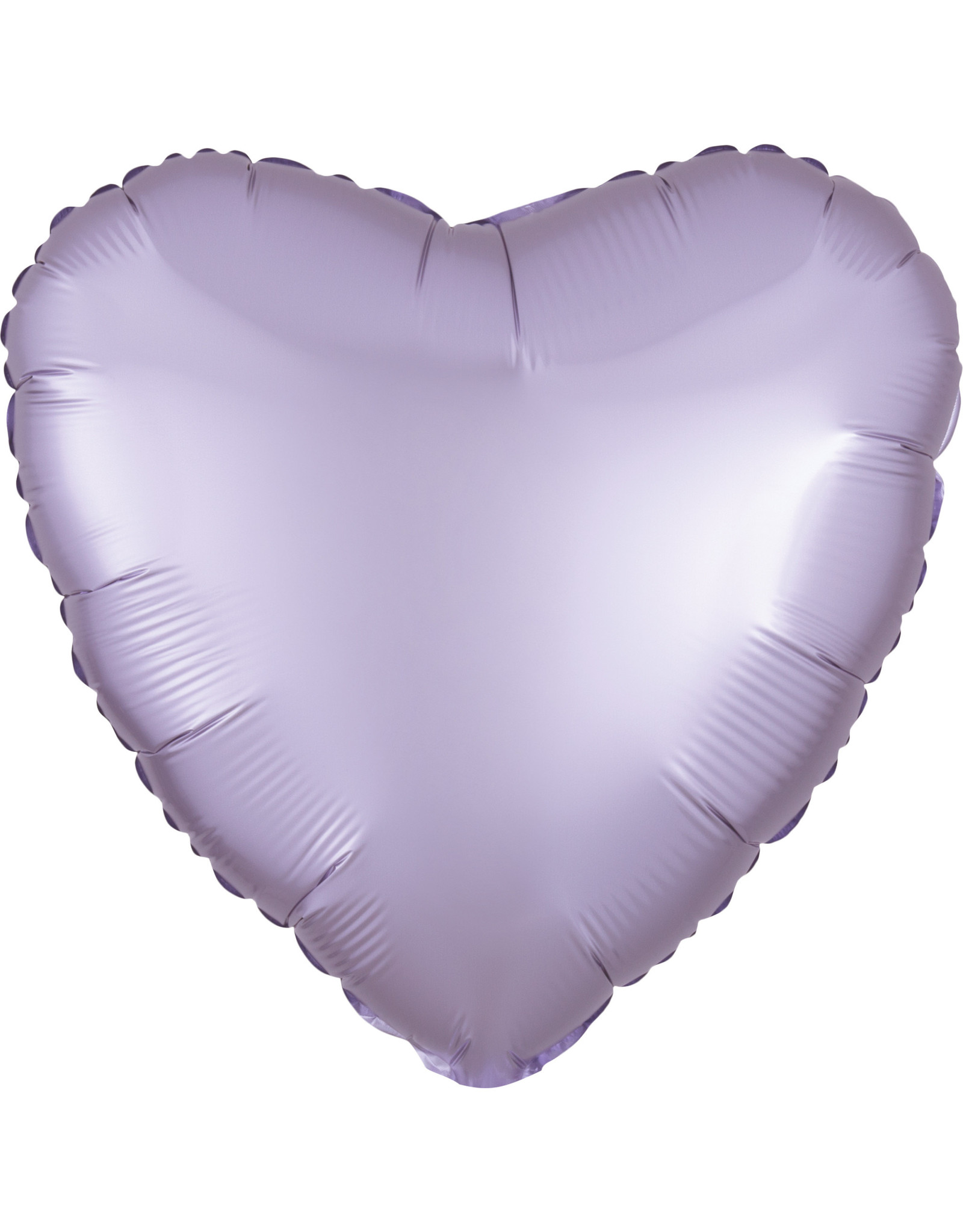 Amscan folieballon pastel lila hart 43 cm