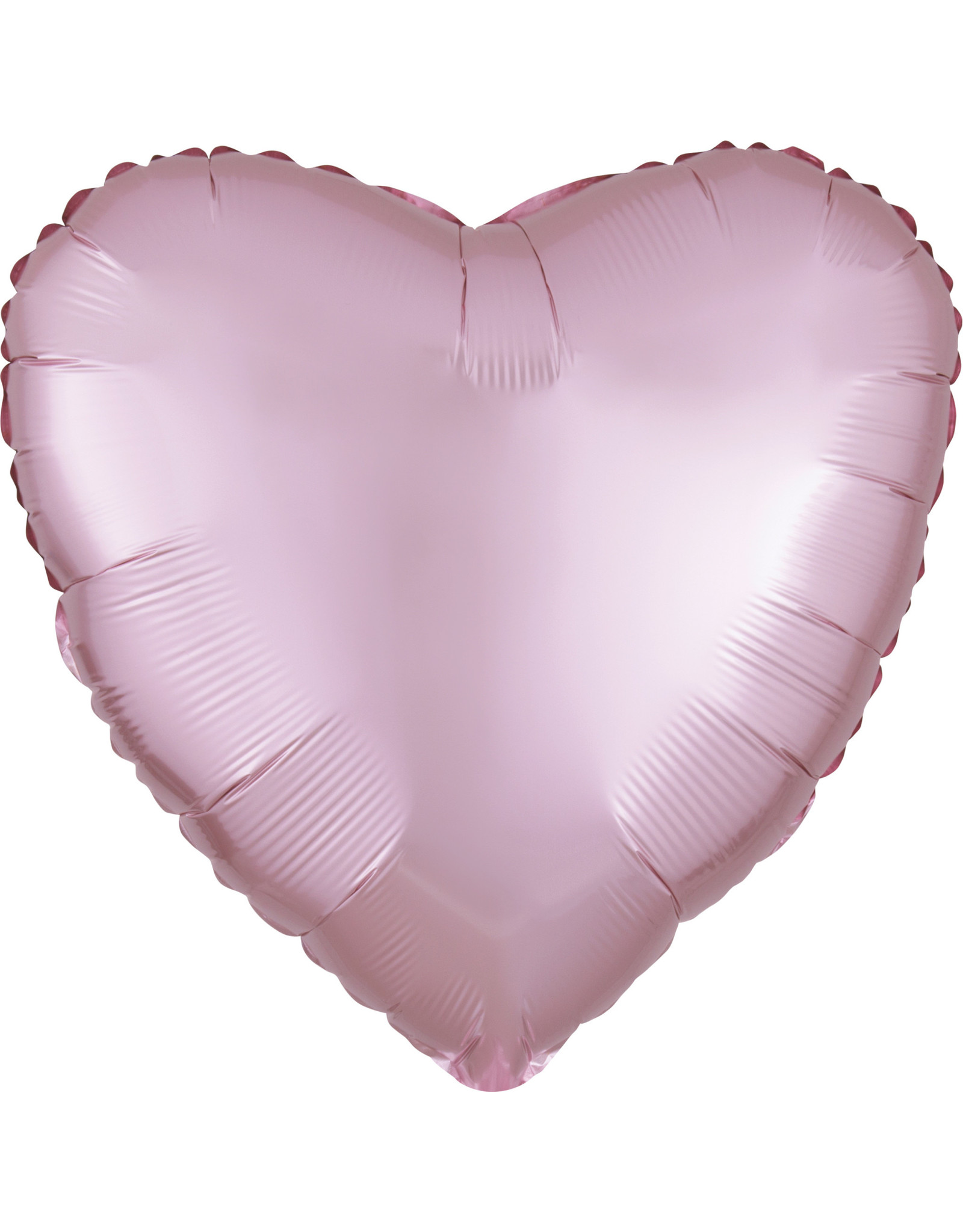 Amscan folieballon pastel pink hart 43 cm