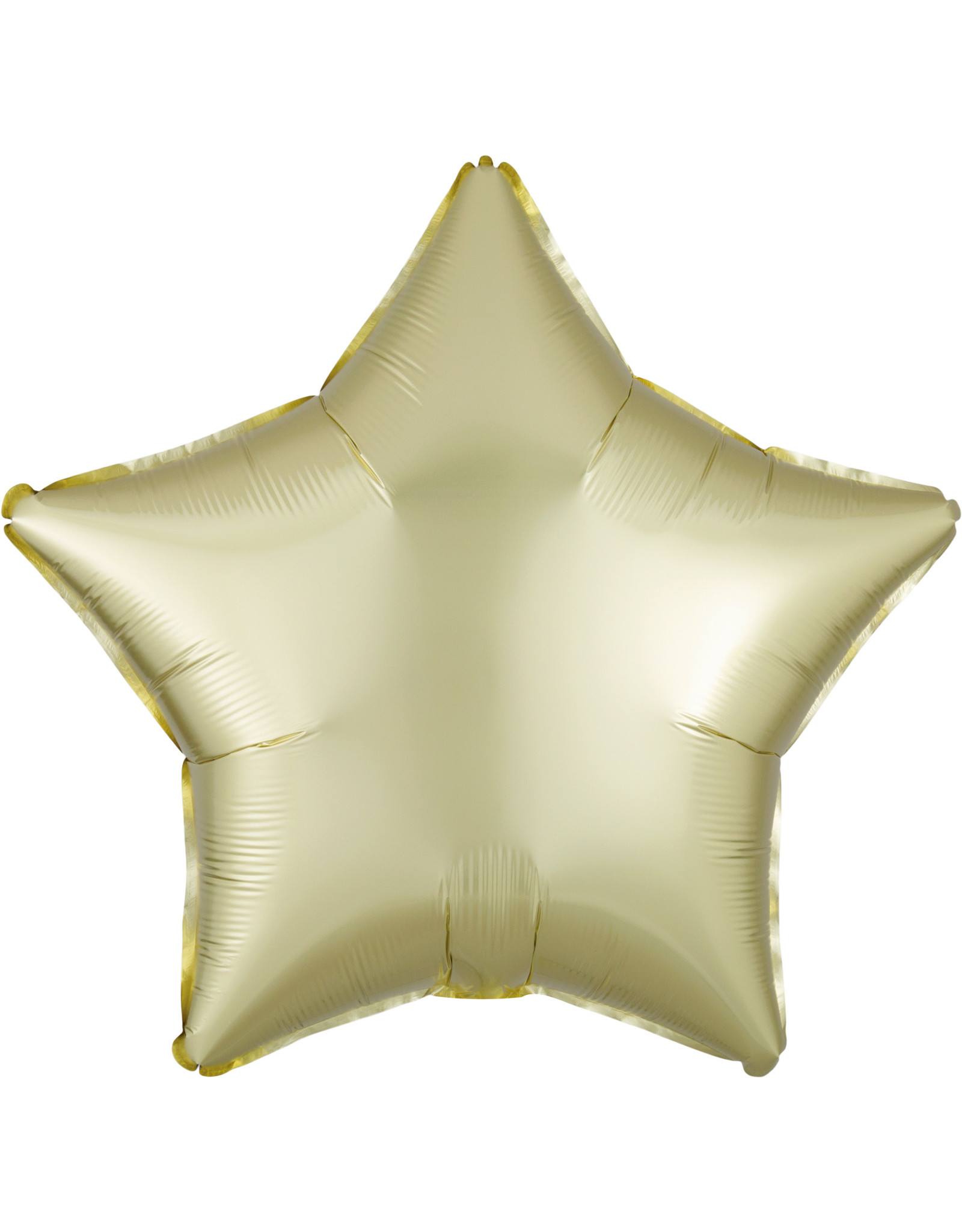 Amscan folieballon pastel yellow ster 48 cm