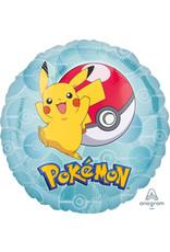 Amscan folieballon pokemon 43cm