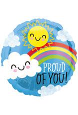 Amscan folieballon Proud of you! 43 cm