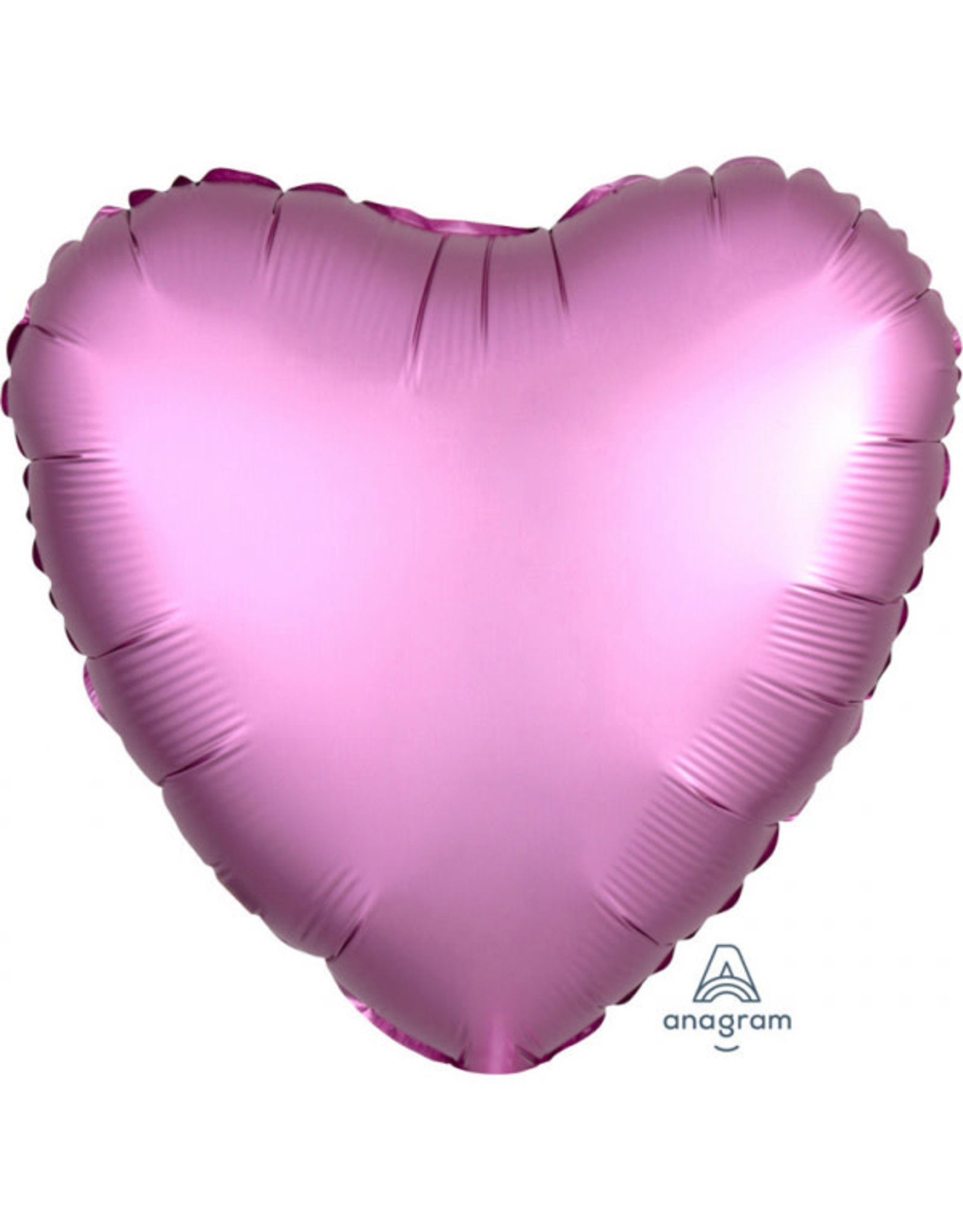 Amscan folieballon roze hart 43 cm
