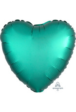 Amscan folieballon turquoise hart 43 cm