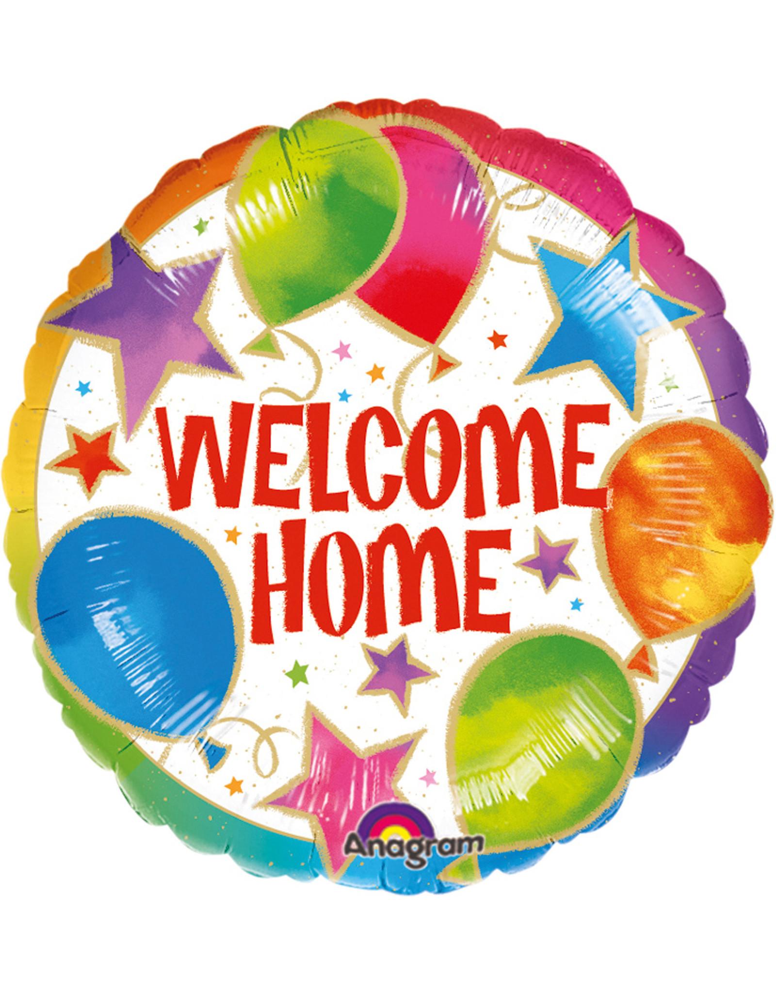 Amscan folieballon welcome home celebration 43 cm