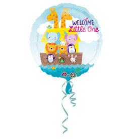 Amscan folieballon welcome little one 43 cm
