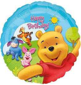 Amscan folieballon Winnie the pooh 43 cm
