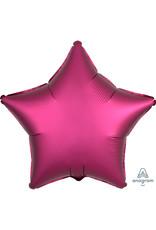 Amscan folieballon fuchsia ster 48 cm