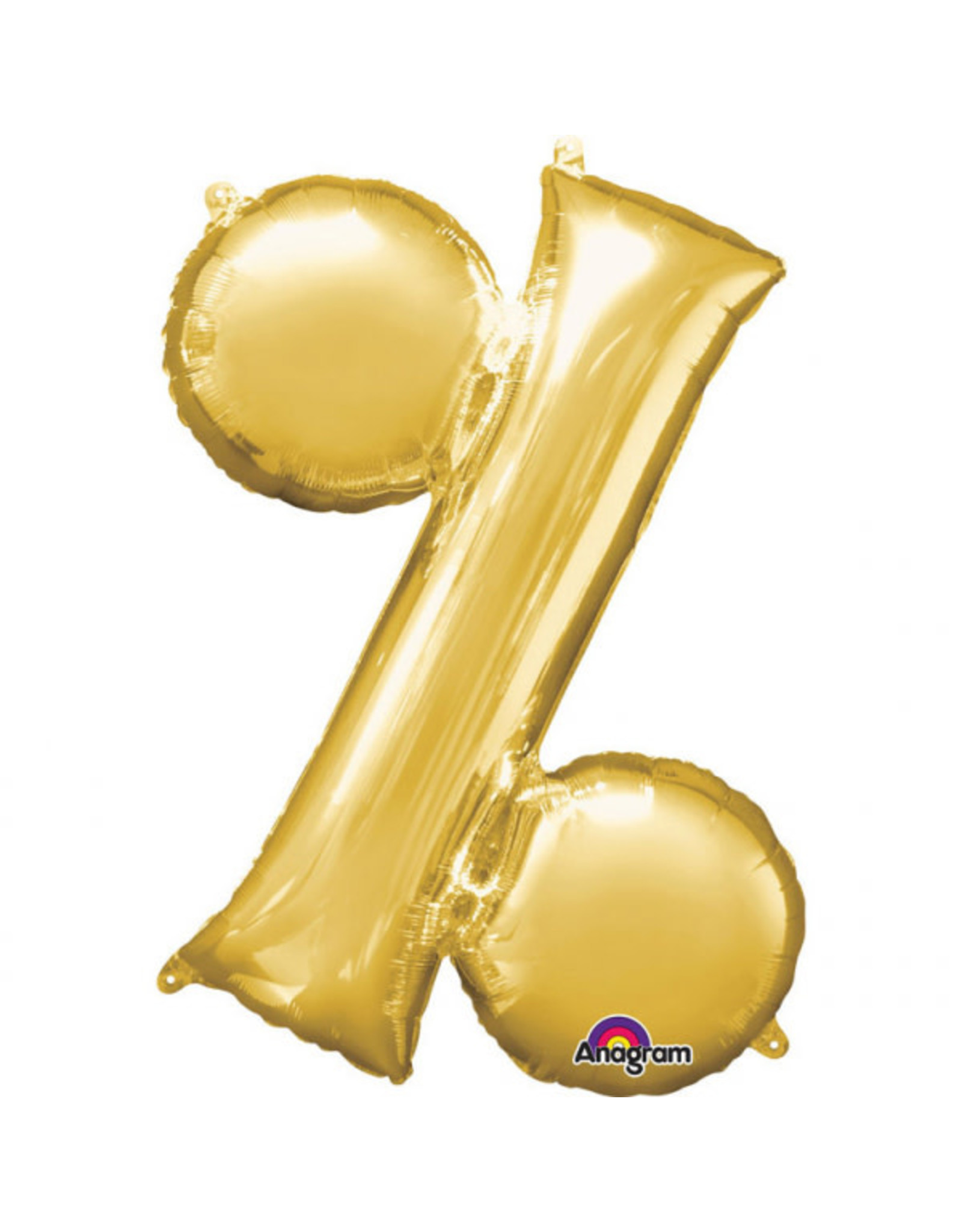 Amscan folieballon goud % 40 cm