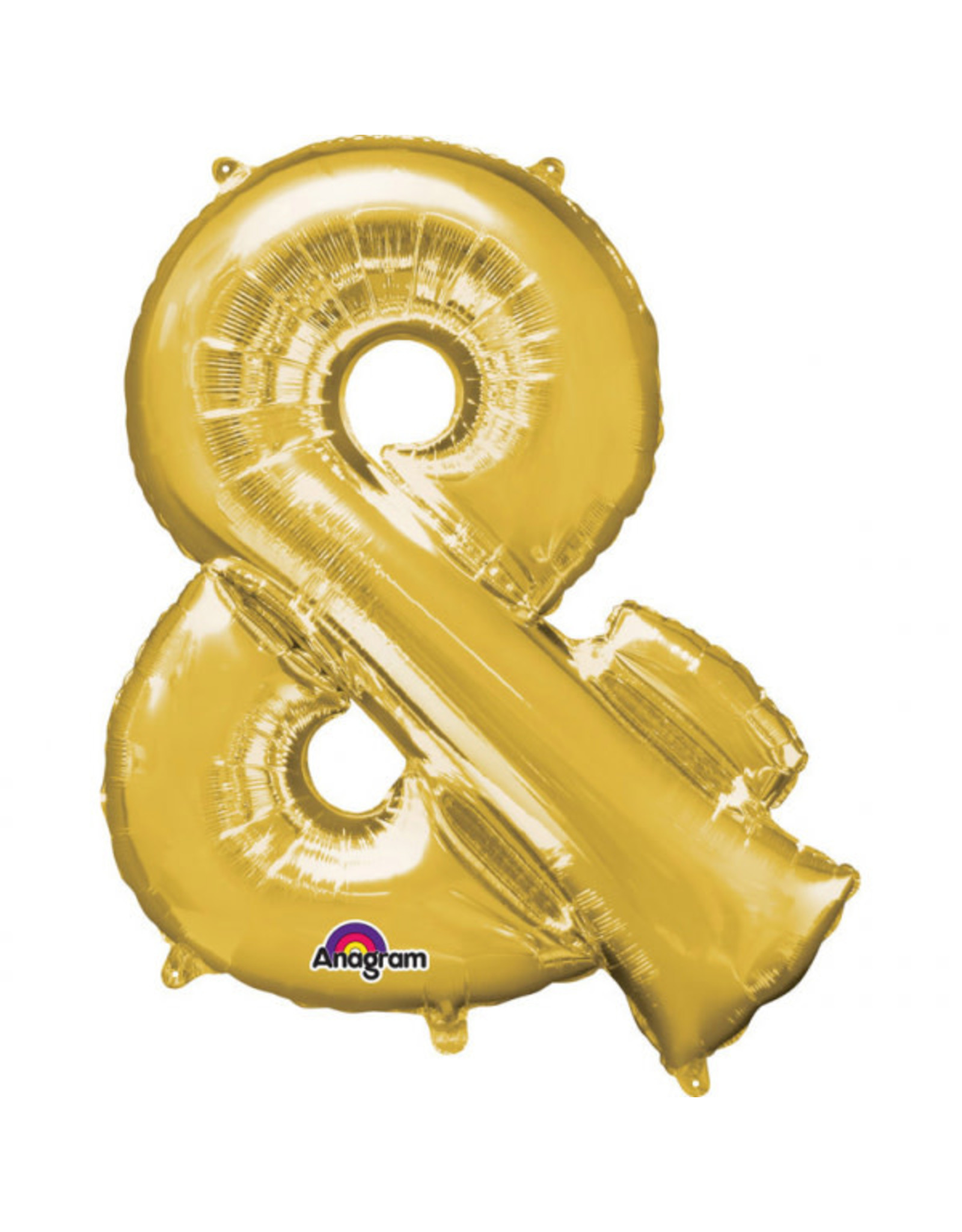 Amscan folieballon goud & 40 cm
