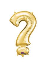 Amscan folieballon goud ? 40 cm