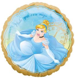 Amscan folieballon Disney princess assepoester 43 cm