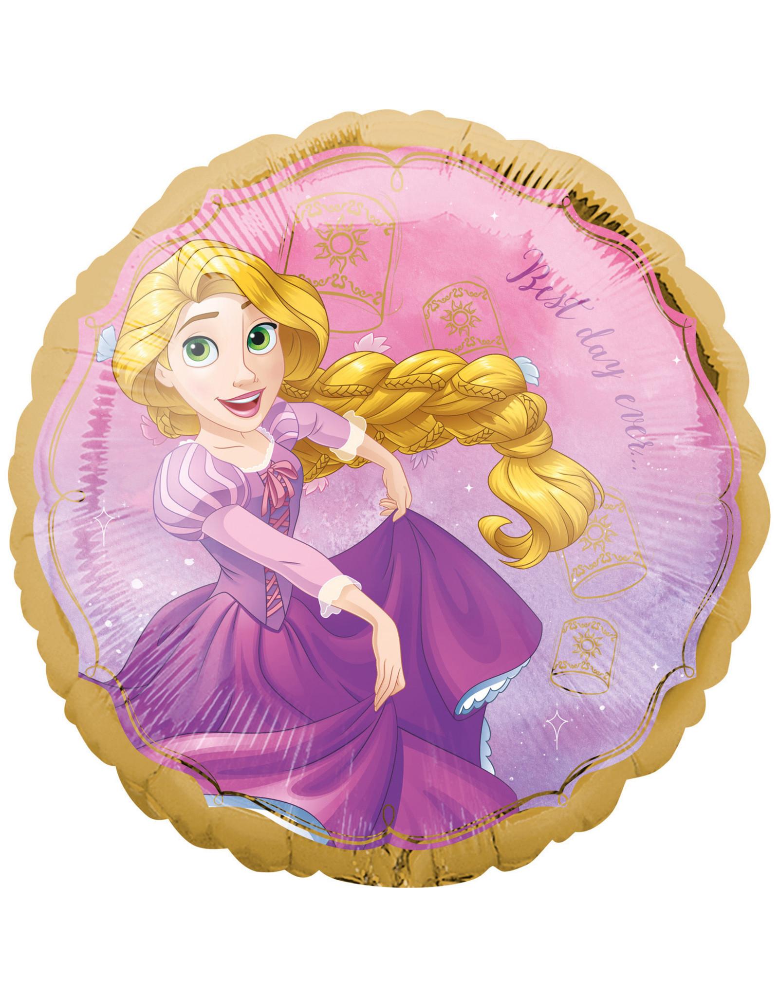 Amscan folieballon Disney princess Rapunzel 43 cm