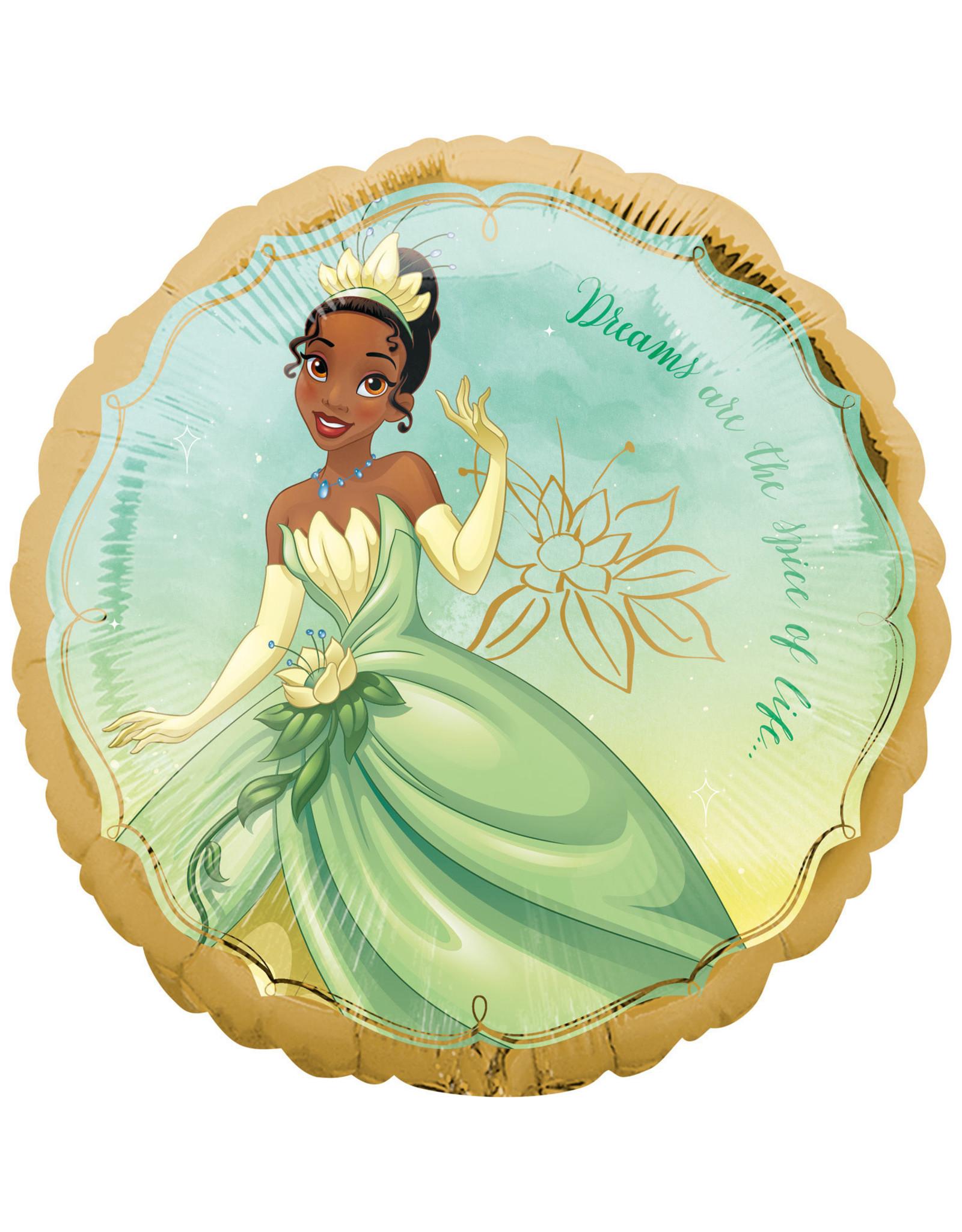 Amscan folieballon Disney princess Tiana 43 cm