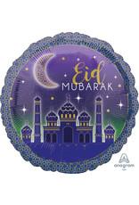 Amscan folieballon Eid Mubarak 43 cm