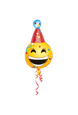 Amscan folieballon emoticon hat 35 x 63 cm