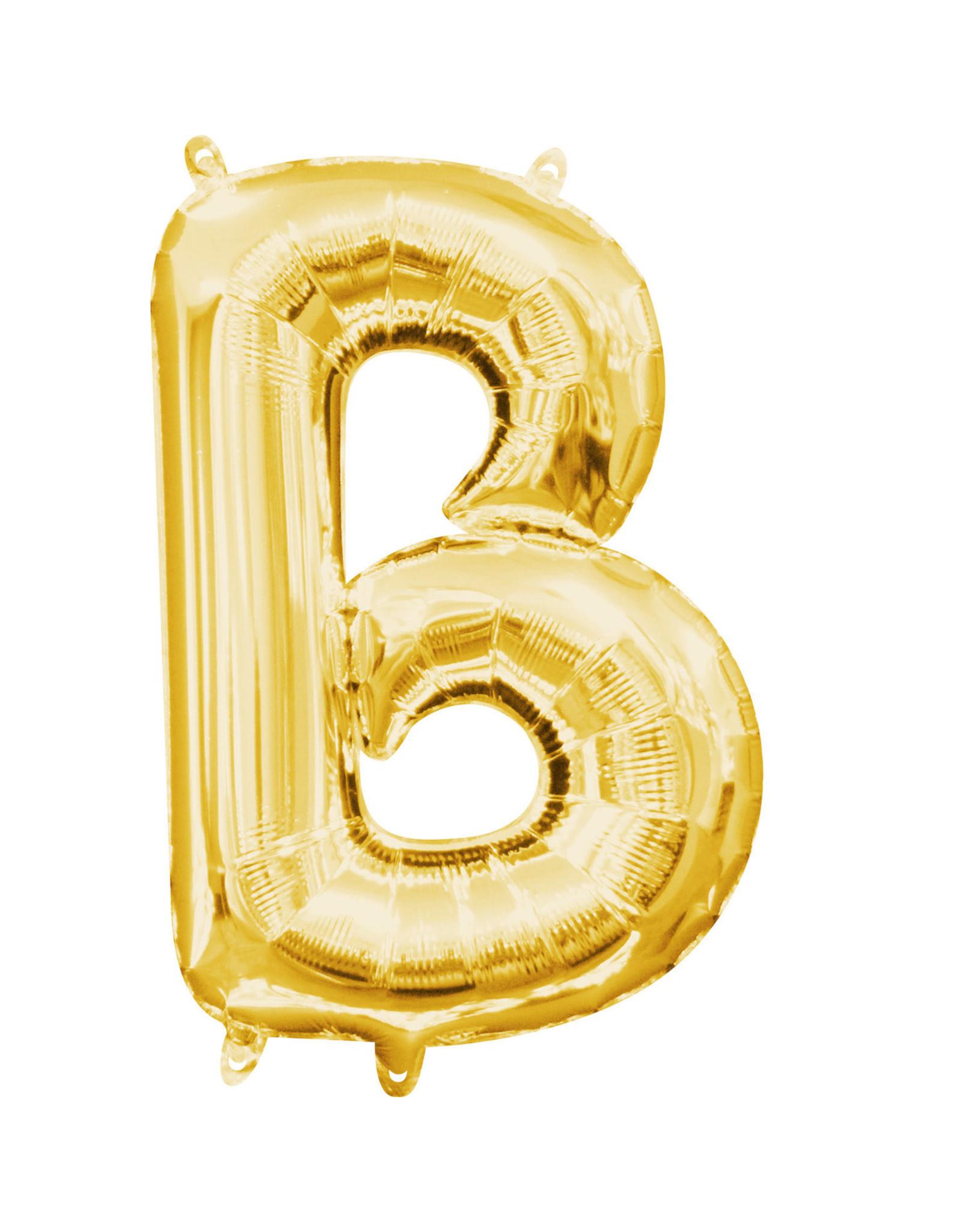 Amscan folieballon goud letter B 40 cm