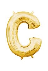 Amscan folieballon goud letter C 40 cm