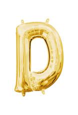 Amscan folieballon goud letter D 40 cm
