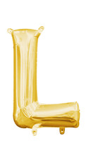 Amscan folieballon goud letter L 40 cm