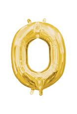 Amscan folieballon goud letter O 40 cm