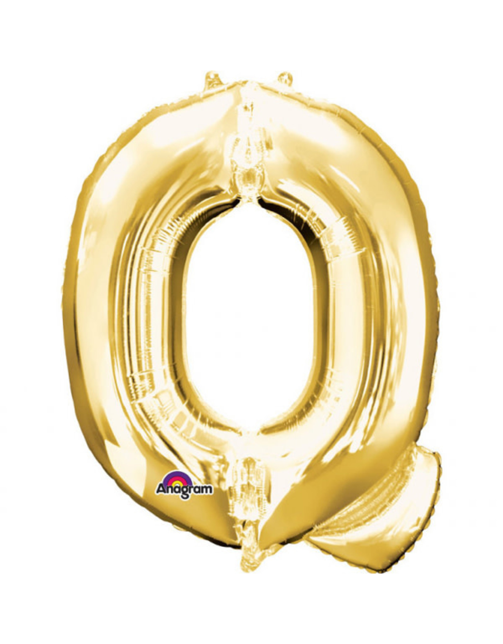 Amscan folieballon goud letter Q 40 cm