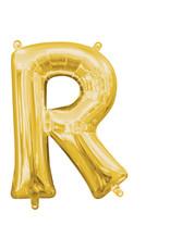 Amscan folieballon goud letter R 40 cm
