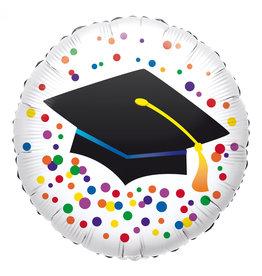 Amscan folieballon graduation 43 cm