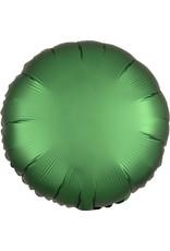Amscan folieballon groen rond 43 cm