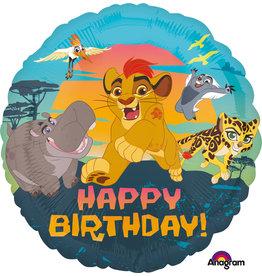 Amscan folieballon lion king happy birthday 43 cm