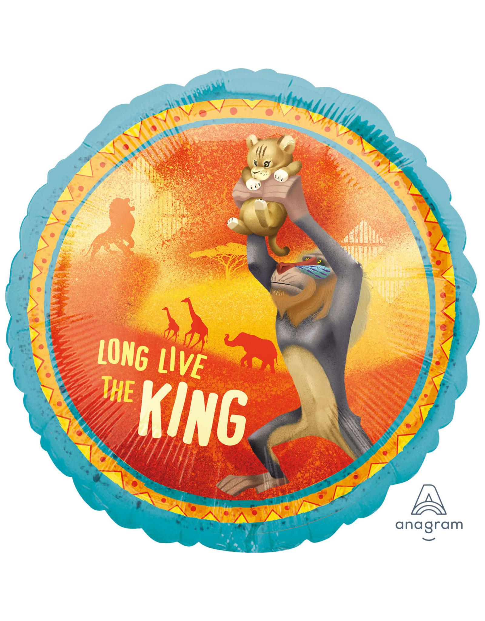 Amscan folieballon long live the lion king 43 cm