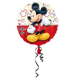 Amscan folieballon Mickey portrait 43 cm