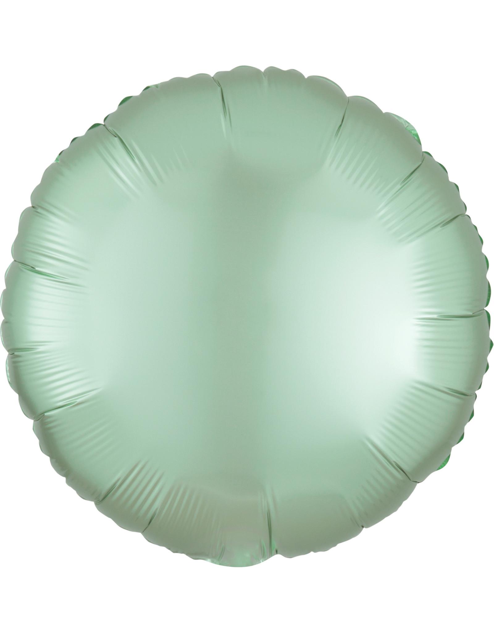 Amscan folieballon mint groen rond 43 cm