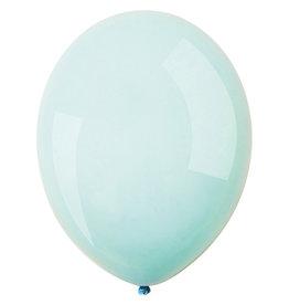 Amscan latex macaron sky blue 11 inch 50 stuks