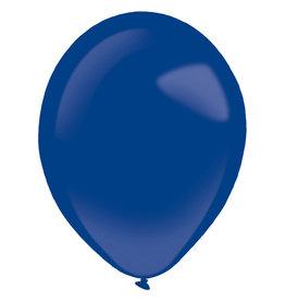Amscan latex fashion ocean blue 11 inch 50 stuks