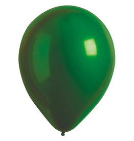 Amscan ballonnen chroom emerald 11 inch 50 stuks
