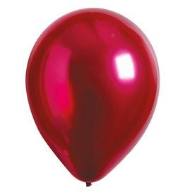 Amscan ballonnen chroom pomegranate 11 inch 50 stuks