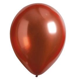 Amscan ballonnen chroom rose copper 11 inch 50 stuks