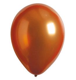 Amscan ballonnen chroom gold sateen 11 inch 50 stuks