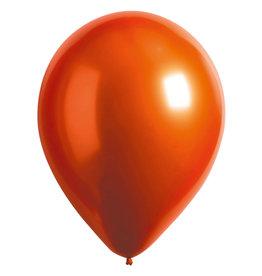 Amscan ballonnen chroom amber 11 inch 50 stuks