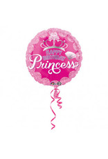 Amscan folieballon princess crown 43 cm
