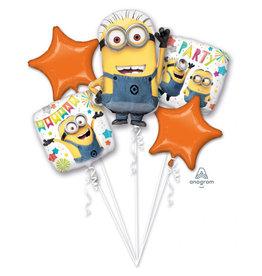 Amscan folieballonpakket Minions 5-delig