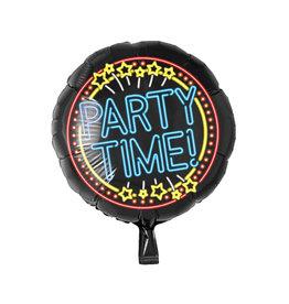 Neon folieballon party time!