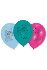 Amscan latex ballonnen Frozen 10 stuks