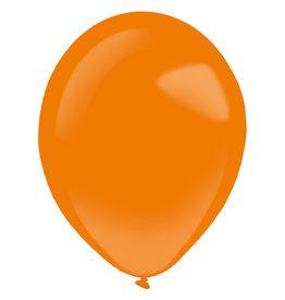 Amscan latex standard tangerine 11 inch 50 stuks
