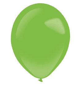 Amscan latex standard festive green 11 inch 50 stuks