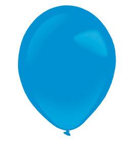 Amscan latex standard bright royal blue 11 inch 50 stuks