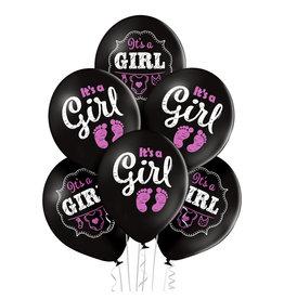 Belbal latex ballon it's a girl 6 stuks