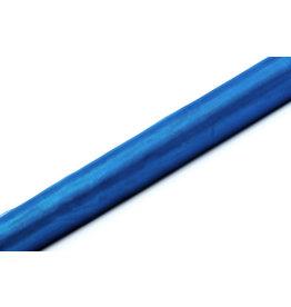 Organza blauw op rol