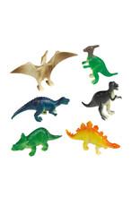 Amscan dino mini figuurtjes 8 stuks