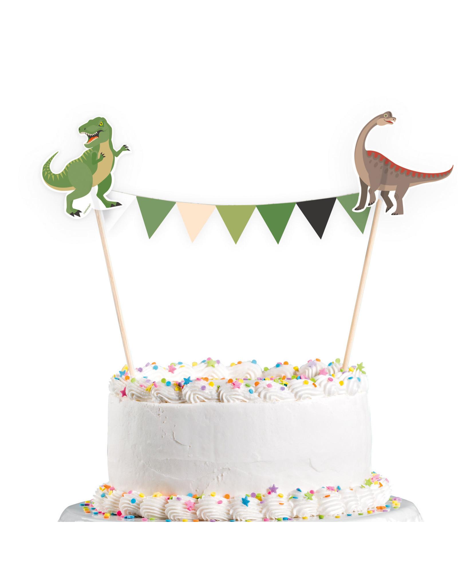 Amscan dino cake topper 15 x 20 cm